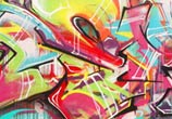 Graffiti mural graffiti by Mr Shiz