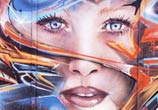 Sci-Fi Face Graffiti by Mr Shiz