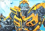Transformers graffiti by Mr Shiz
