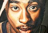 Portrait of 2 Pac by Nikko Hurtado