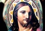 Jesus tattoo by Nikko Hurtado