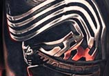Kylo Ren tattoo by Nikko Hurtado