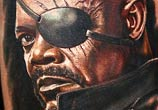 Samuel L Jackson as Nick Fury from Avengers by Nikko Hurtado