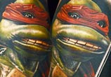 Tattoo of Teenage Mutant Ninja Turtles by Nikko Hurtado