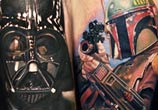 Star Wars tattoo by Nikko Hurtado