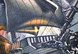 The Ship tattoo by Nikko Hurtado