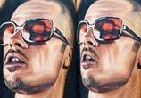Tyler Durden tattoo by Nikko Hurtado