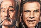 Bill Murray & Will Ferrel by Nikko Hurtado