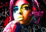 Amy Winehouse, mixed media by Patrice Murciano