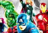 Avengers mixedmedia by Patrice Murciano