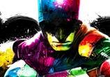 Batman mixedmedia by Patrice Murciano