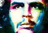 Viva La Revolucion, Che, mixed media by Patrice Murciano
