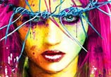Love One Another mixedmedia by Patrice Murciano