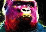 Rock N Kong mixedmedia by Patrice Murciano