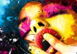 Sex is goog, mixed media by Patrice Murciano