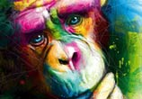 The Origins Ape by Patrice Murciano