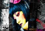 Tokyo Black, mixed media by Patrice Murciano