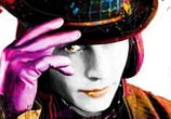 Willy Wonka, mixed media by Patrice Murciano