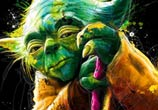 Yoda from Star Wars mixedmedia by Patrice Murciano