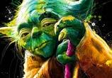 Yoda from Star Wars mixedmedia by Patrice Murciano