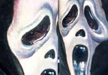 Tattoo Ghostface from Scream by artist Paul Acker