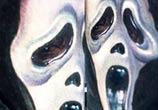 Tattoo Ghostface from Scream by artist Paul Acker