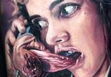 Nancy portrait tattoo by Paul Acker