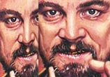 Calvin Candie portrait tats from Django Unchained by Paul Acker