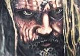 Rob Zombie portrait tattoo by Paul Acker