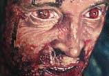Horror zombie portrait tattoo by Paul Acker