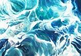 Symbol of Water painting by Peter Zuffa Bodliak