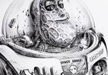 Buzz sketch drawing by Pez Art