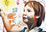 Child portrait by Pichi and Avo