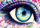 Abstract eye  by Pixie Cold