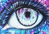 An Abstract Eye  by Pixie Cold