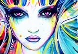 Goddess of Colours  by Pixie Cold