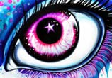My Star Eye drawing by Pixie Cold