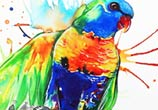 Parrot Joy  by Pixie Cold