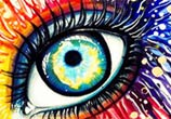 Rainbow Eye  by Pixie Cold