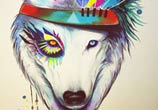 Wild Soul painting by Pixie Cold