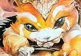 Gnar color drawing by Roberto Vieira