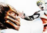 Scorpion vs Naruto color drawing by Roberto Vieira