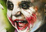 Baby Joker color drawing by Sergey Shanko