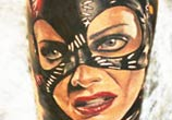 Catwoman 2 tattoo by Sergey Shanko