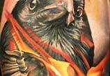 Crow tattoo by Sergey Shanko