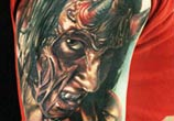 Devil in me tattoo by Sergey Shanko
