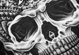 Detail Skull marker drawing by Sneaky Studios