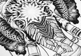 Elephant mystic genesh drawing by Sneaky Studios