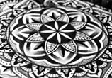 Mandala Flower drawing by Sneaky Studios