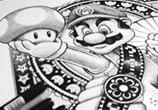 Super Mario Bros drawing by Sneaky Studios